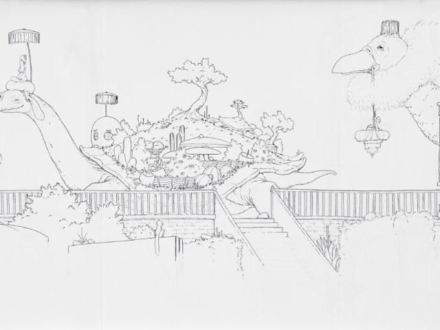 Louis Loup Collet - Jardin du Musée Jenisch Vevey