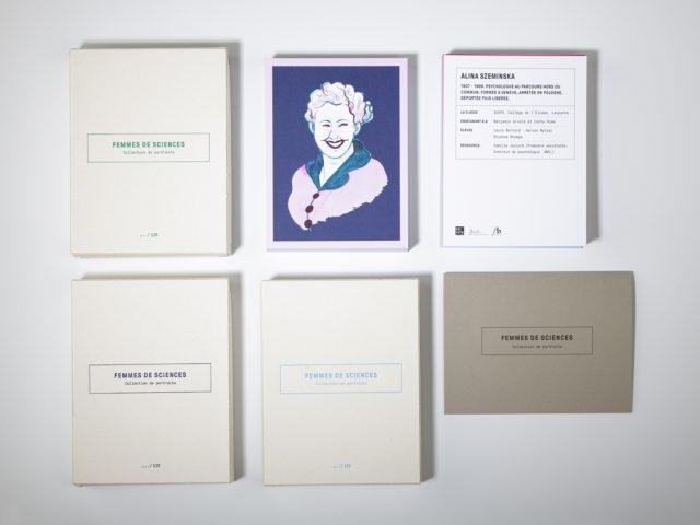 Collection Portraits de femmes de sciences